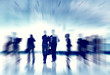 Business People Working and Urban Scene Concept