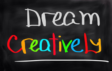 Dream Creatively Concept