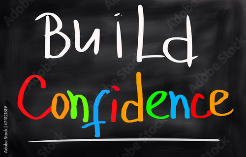 Build Confidence Concept Poster