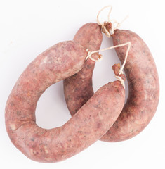 2 traditional Bulgarian's sausages