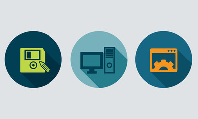 Information technology -  set icons 2