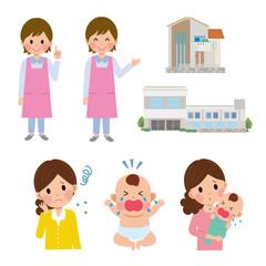 子育て 女性 保育士
