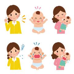 子育て 女性 赤ちゃん