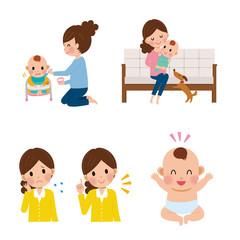 子育て 女性 離乳食 育児