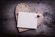 Obrazy na płótnie, fototapety, zdjęcia, fotoobrazy drukowane : Valentine day postcard