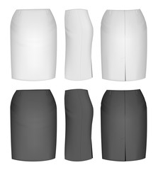 Ladies skirt for business women.