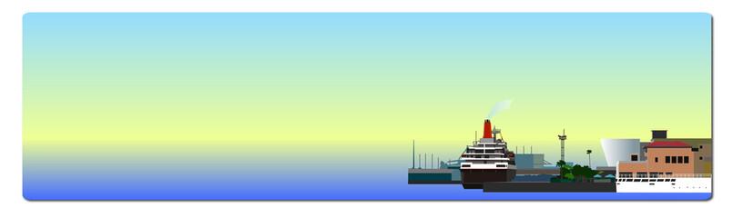 港のバナー