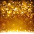 Christmas golden background