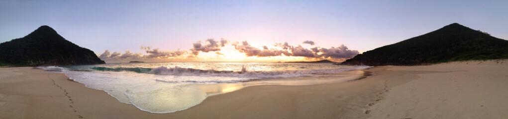 Panoramic views of Zenith Beach
