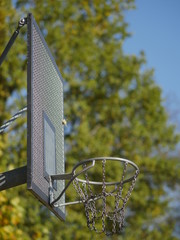 basketball basket outdoors