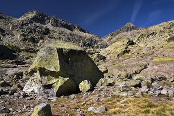 Pico Almanzor en la Sierra de Gredos