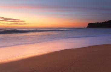 Summer sunrise Bungan Beach Australia