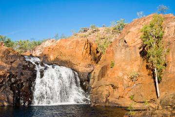 Upper waterfall and pool at Edith Falls, Australia