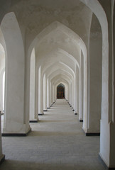 Columned gallery