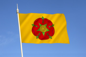 Flag of Lancashire - United Kingdom