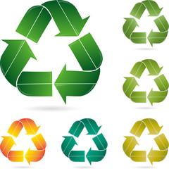 Recycling Zeichen, Logo, Eco