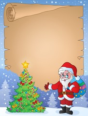 Christmas topic parchment 9