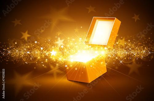 Zdjęcia na płótnie, fototapety, obrazy : Christmas golden background