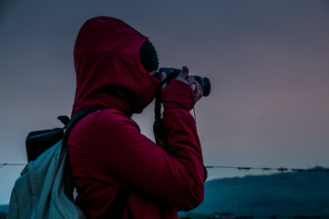 Fotografando paesaggi al tramonto