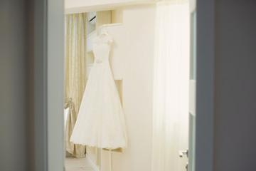 Hanging Dress in Bright Romm