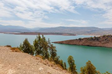 Barrage Bin El-Ouidane, Marokko