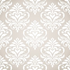 Seamless damask pattern.