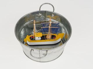 sinked ship