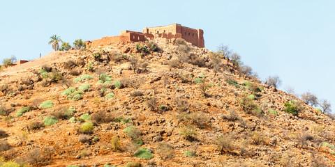 De bergen rond Beni Mellal, Marokko