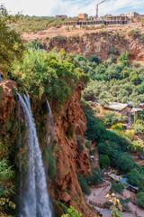 Ouzoud,Cascades, d'Ouzoud, watervallen, Marokko