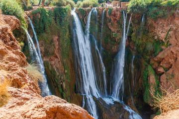 Cascades d'Ouzoud watervallen, Marokko