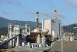 Obraz na płótnie industrial factory exterior