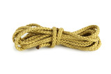 Polyester rope isolated on white background poster