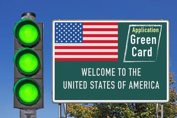 Willkommen in den USA