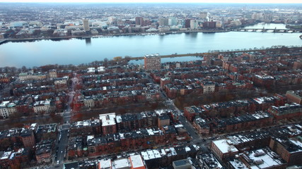 A timelapse view of a Boston neighborhood