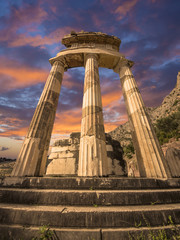 The Tholos, Delphi, Greece