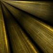 Abstract dark yellow rays background