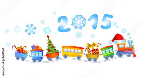 New Year's train - 74141845