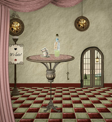 Wonderland series - Drink me room