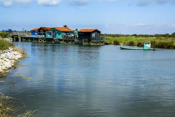 Île d'Oléron cabanes colorées