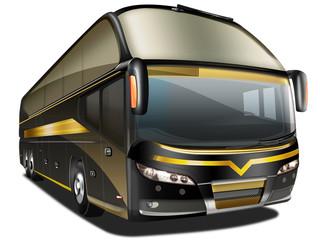 Luxus Reisebus,Fernbus, freigestellt