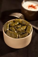 stuffed vine leaves turkish cuisine etli yaprak sarma