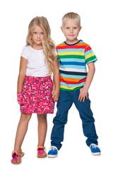 Blond children