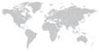 Hi Detail Vector Political World Map illustration