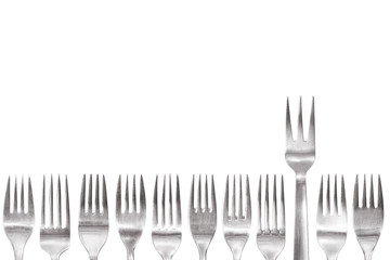 standing out of the crowd fork