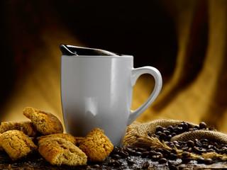 caffe' e biscotti