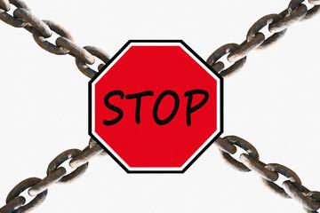 Stop !  Avertissement