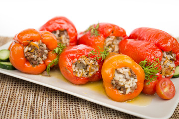 Cooked peppers