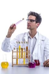 Chemiker im Labor