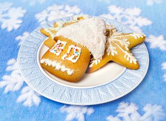 Christmas dessert and decor
