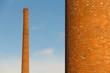 Chimeneas Industriales Antigua de Fabrica de Tejas